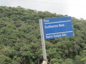 Homenagem ao pioneiro Guilherme Belz